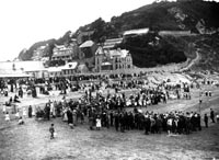 Old image of Looe Beach